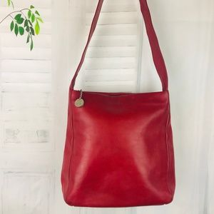 The SAK Collection Genuine Leather Shoulder Bag